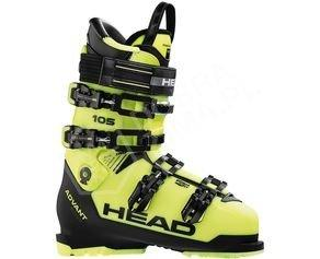 Buty narciarskie HEAD ADVANT EDGE 105 Yellow / Black sezon 2018/2019