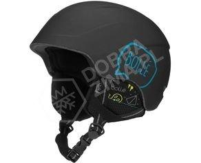 Juniorski kask narciarski Bolle B-Lieve Matt Black Shout sezon 2018/2019
