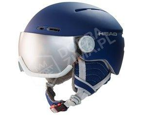 Kask narciarski HEAD Queen Nightblue sezon 2020